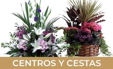 Tus centros de flores en la gardenia floristeria